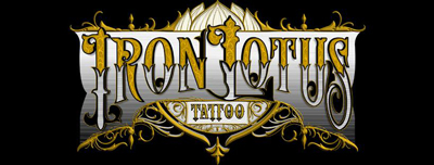 Iron Lotus Tattoo & Body Piercing – Cedar Rapids Iowa Tattoo and Body Piercing Logo